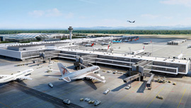 amd sigma news: Master Plan Terminal 1 Munich Airport
